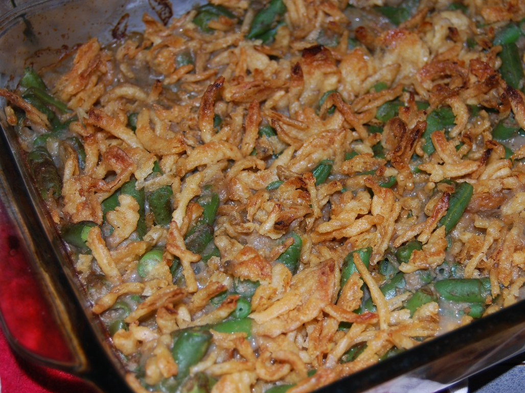 Angela's Homemade Green Bean Casserole | HomeGrown Organics ...