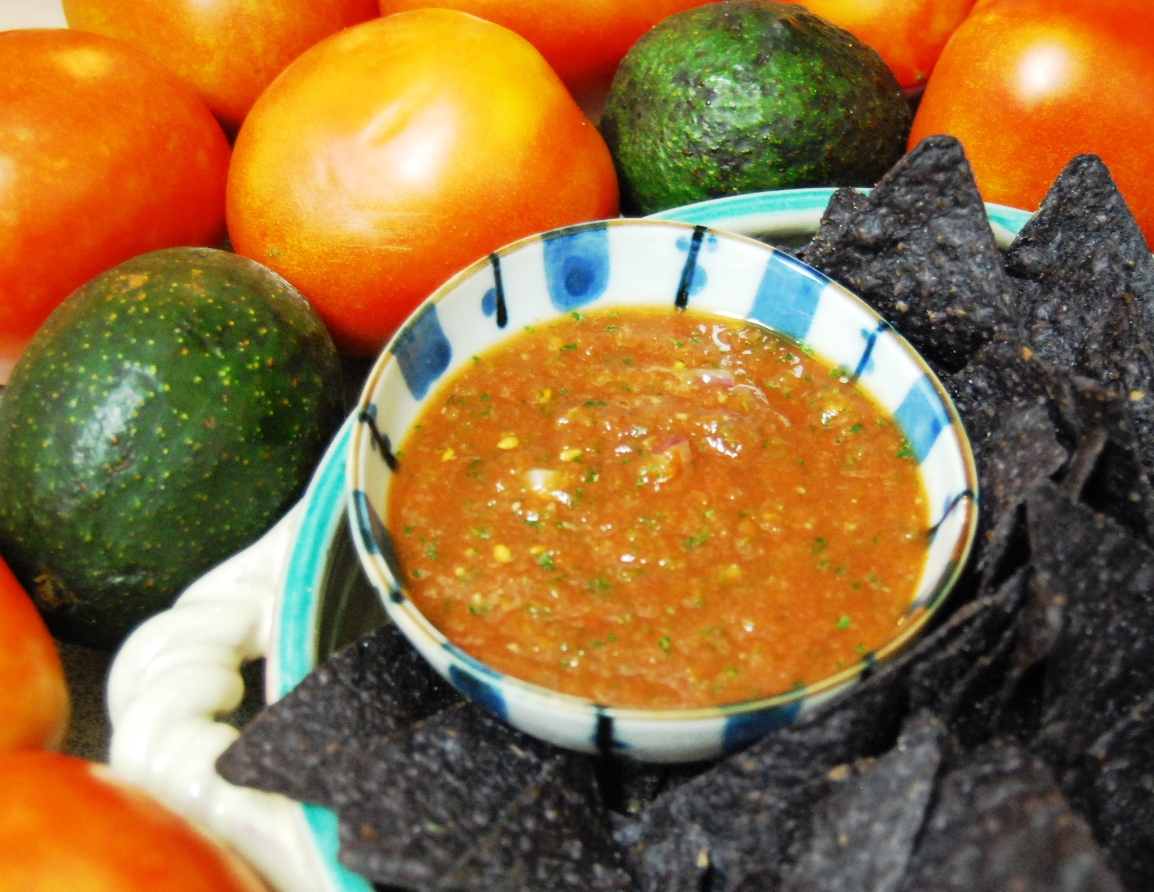 Truly authentic mexican salsa homegrown organics gainesville straight from diwa browns recipe book forumfinder Image collections